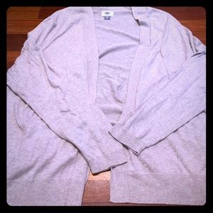 Old navy tan cardigan